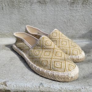 J. Crew embroidered espadrilles size 9 Cute Flats